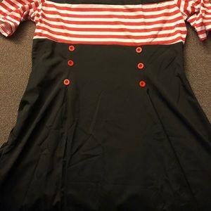 Costume pinup dress